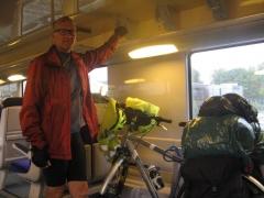 train, ter, randonnée, vélo, watten