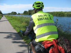 Abbeville, St Valéry, chemin, halage, vélo, randonnée, vtc