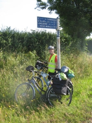 Carrouges, Orne, Normandie, Véloscénie, vélo, Riton