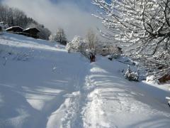 St Gervais, raquettes, Haute-Savoie