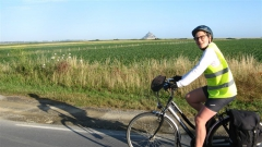 Mont St-Michel, Normandie, Véloscénie, Manche, vélo