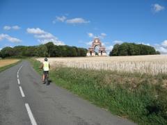 Thiepval, mémorial, randonnée, vélo