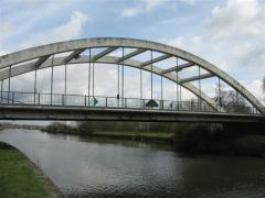 pont, lys, werwik, belgique