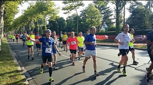 semi-marathon, braderie, lille, 2017, course à pied, running