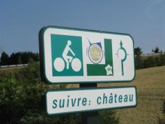 Carrouges, Orne, Normandie, Véloscénie