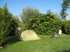 camping, somme, randonnée, vélo