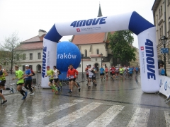 marathon, cracovie, pologne