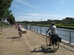 courtrai, flandre, belgique, vélo