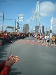 Marathon de Rotterdam - Erasmus Bridge.JPG