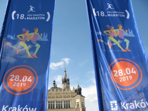 marathon, cracovie, pologne, auschwitz