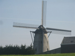 moulin, Flandre, Belgique