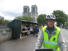 vélo, Paris, notre dame