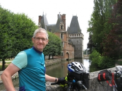 Maintenon, chateau, vélo