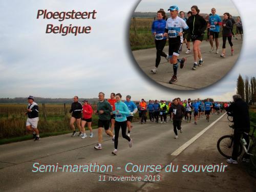 course, semi, marathon, ploegsteert, belgique, souvenir