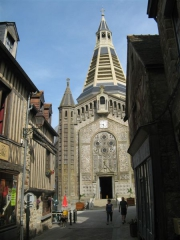Domfront, Orne, Normandie, Véloscénie