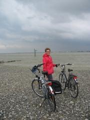St Valéry-sur-Somme, baie de somme, randonnée, vélo, vtc, Hourdel