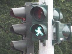 Ampel Mann ampelmann berlin trafic light feu tricolore vert Allemagne