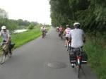 Canal, flandre, belgique, vélo