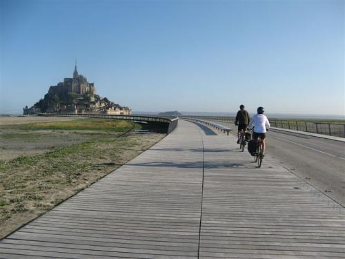 Mont St-Michel, Normandie, Manche, Véloscénie, vélo