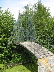 Amiens, chemin, halage, vélo, randonnée, grille