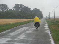 Gabbie sous la pluie.JPG