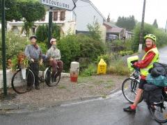 Compagnons, randonnée, vélo, vtc