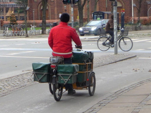 Copenhague, Dannemark, vélo, christiania, tricycle