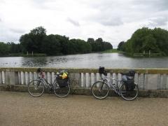 vélo, chateau, rambouillet