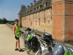 Carrouges, Orne, Normandie, Véloscénie, château