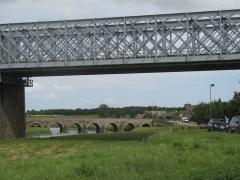 Pontaubault, manche, normandie, vélo, véloscénie, ponts
