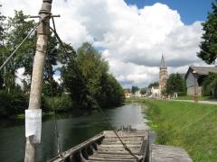 barge, ambianis, somme, moyen age, vélo, randonnée