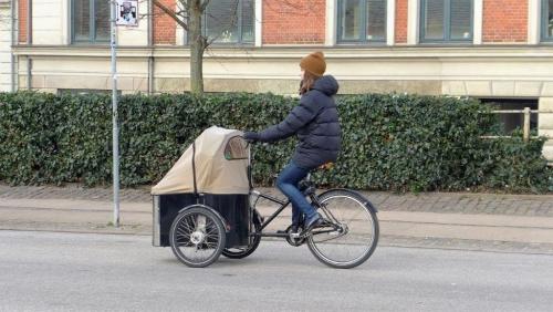 Copenhague, Dannemark, vélo, christiania, tricycle