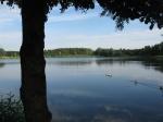 lac, flandre, belgique, vélo