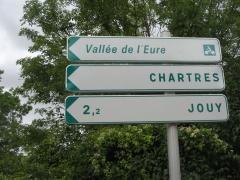 Chartes, voie verte