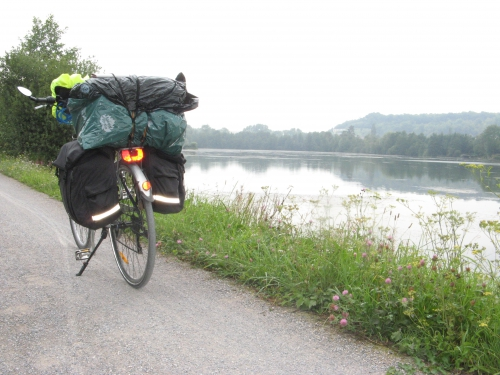 somme, vélo, randonnée, Long