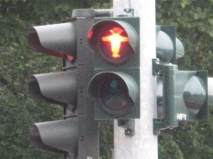 Ampel Mann ampelmann berlin trafic light feu tricolore rouge Allemagne