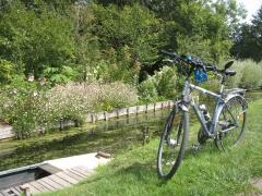 Amiens, chemin, halage, vélo, randonnée, barque