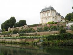 chateau, long, randonnée, vélo, somme